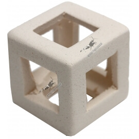 Cube en céramique Blanc (à l'unité)