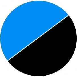 Poster de fond Noir/Bleu (au mètre)
