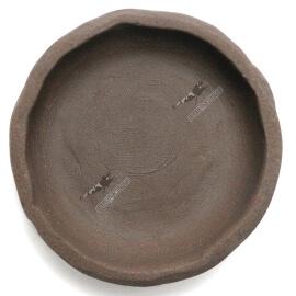 Coupelle terre cuite  60mm Brune (fait main)