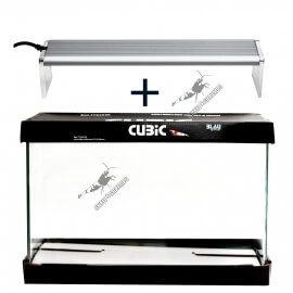 Kit Blau Cubic 45 x 28 x 30 cm (38L) + Chihiros A-Serie