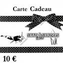 Carte Cadeau 10 €