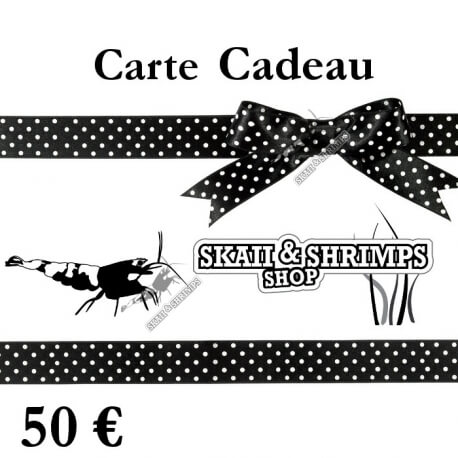 carte cadeau 50 skaii and shrimps. Black Bedroom Furniture Sets. Home Design Ideas