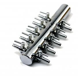 Robinet Metal 10 voies