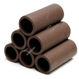 Pyramide 6 tubes brun 70 mm