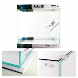 Blau Cubic Aquascaping  40 x 40x 40 cm (64L) Ultra-Clear