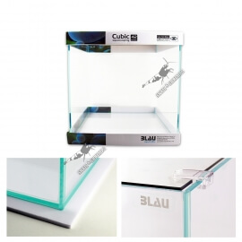Blau Cubic Aquascaping  35 x 35 x 35cm (42L) Ultra-Clear
