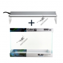 Kit Blau Cubic Aquascaping 45cm (38L) + Chihiros A-Serie