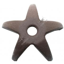 3 étoiles en céramique