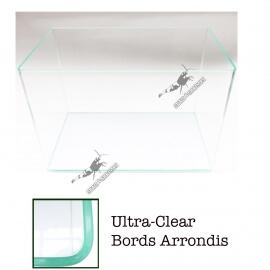 Aquarium Ultra Clear-Bords Arrondis 20L (36x22x26cm)