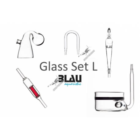 Blau Glass set L