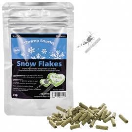 Shrimp Snack Snow Flakes, Epinards, Bettes 30g